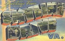 LLT201469 - Skyline Drive, VA USA Large Letter Town Vintage Postcard Old Post Card Antique Postales, Cartes, Kartpostal