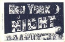 LLT201625 - New York USA Large Letter Town Vintage Postcard Old Post Card Antique Postales, Cartes, Kartpostal
