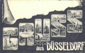 LLT201628 - Gruss USA Large Letter Town Vintage Postcard Old Post Card Antique Postales, Cartes, Kartpostal