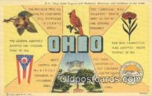 LLT201693 - Ohio USA Large Letter Town Vintage Postcard Old Post Card Antique Postales, Cartes, Kartpostal