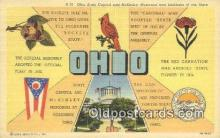 LLT201694 - Ohio USA Large Letter Town Vintage Postcard Old Post Card Antique Postales, Cartes, Kartpostal