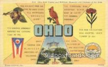 LLT201695 - Ohio USA Large Letter Town Vintage Postcard Old Post Card Antique Postales, Cartes, Kartpostal