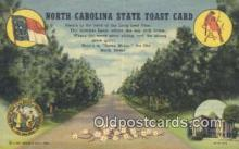 LLT201697 - North Carolina USA Large Letter Town Vintage Postcard Old Post Card Antique Postales, Cartes, Kartpostal
