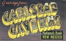 LLT201811 - Carlsbad Caverns National Park, New Mexico USA Large Letter Town Vintage Postcard Old Post Card Antique Postales, Cartes, Kartpostal