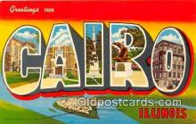 LLT300003 - Cairo Illinois, USA Postcard Post Cards