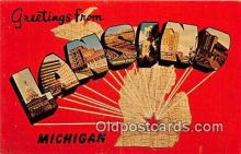 LLT300011 - Lansing Michigan, USA Postcard Post Cards