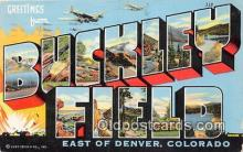 LLT300012 - Buckley Field, Denver Colorado, USA Postcard Post Cards