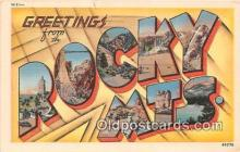 LLT300018 - Rocky Mountains Colorado, USA Postcard Post Cards