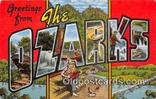 LLT300022 - The Ozarks  Postcard Post Cards