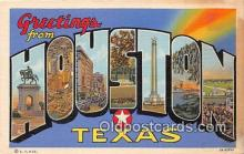 LLT300024 - Houston Texas, USA Postcard Post Cards