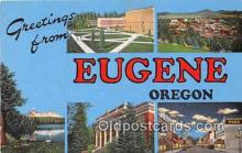 LLT300027 - Eugene Oregon, USA Postcard Post Cards