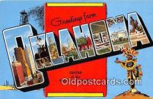 LLT300029 - Oklahoma, USA Postcard Post Cards