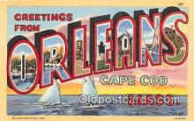 LLT300030 - Orleans, Cape Cod Massachusetts, USA Postcard Post Cards