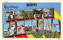 LLT300031 - Murphy North Carolina, USA Postcard Post Cards