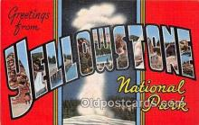 LLT300034 - Yellowstone National Park  Postcard Post Cards