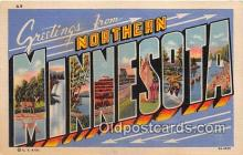 LLT300036 - Northern Minnesota, USA Postcard Post Cards