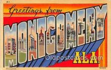 LLT300040 - Montgomery Alabama, USA Postcard Post Cards