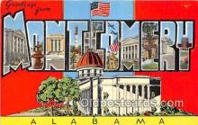 LLT300043 - Montgomery Alabama, USA Postcard Post Cards