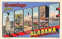 LLT300044 - Mobile Alabama, USA Postcard Post Cards
