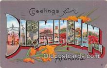 LLT300045 - Birmingham Alabama, USA Postcard Post Cards
