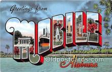 LLT300046 - Mobile Alabama, USA Postcard Post Cards