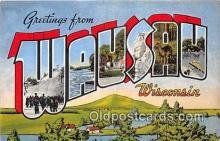 LLT300053 - Wausau Wisconsin, USA Postcard Post Cards