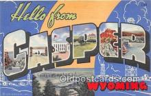 LLT300056 - Casper Wyoming, USA Postcard Post Cards