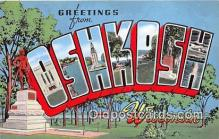 LLT300057 - Oshkosh Wisconsin, USA Postcard Post Cards