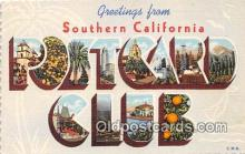 LLT300058 - Southern California, USA Postcard Post Cards