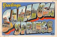 LLT300059 - Saratoga Springs New York, USA Postcard Post Cards