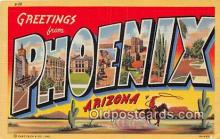 LLT300067 - Phoenix Arizona, USA Postcard Post Cards