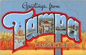 LLT300077 - Tampa Florida, USA Postcard Post Cards