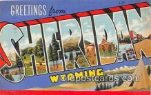 LLT300083 - Sheridan Wyoming, USA Postcard Post Cards