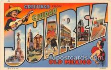 LLT300088 - Juarez Old Mexico Postcard Post Cards