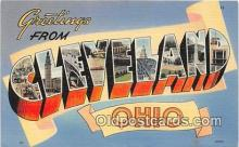 LLT300090 - Cleveland Ohio, USA Postcard Post Cards