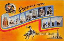 LLT300093 - Oklahoma City Oklahoma, USA Postcard Post Cards