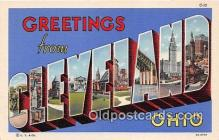 LLT300095 - Cleveland Ohio, USA Postcard Post Cards