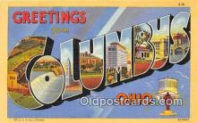 LLT300096 - Columbus Ohio, USA Postcard Post Cards