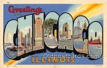LLT300097 - Chicago Illinois, USA Postcard Post Cards