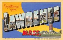 LLT300108 - Lawrence Massachusetts, USA Postcard Post Cards