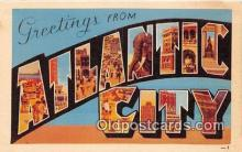 LLT300110 - Atlantic City  Postcard Post Cards