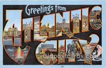 LLT300111 - Atlantic City  Postcard Post Cards
