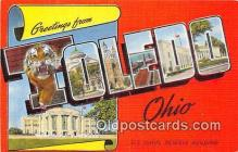 LLT300114 - Toledo Ohio, USA Postcard Post Cards