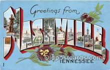 LLT300115 - Nashville Tennessee, USA Postcard Post Cards