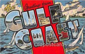 LLT300119 - Gulf Coast  Postcard Post Cards