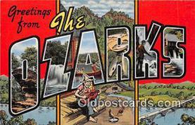 LLT300120 - Ozarks  Postcard Post Cards