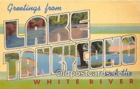 LLT300122 - Lake Taneycomo, White River  Postcard Post Cards