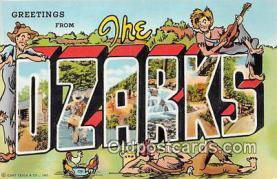 LLT300124 - Ozarks  Postcard Post Cards