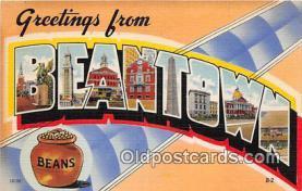 LLT300125 - Beantown  Postcard Post Cards