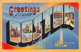 LLT300126 - Boston Massachusetts, USA Postcard Post Cards
